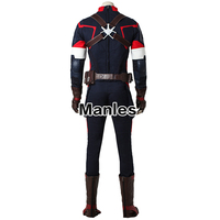 Movie Avengers Age of Ultron Steve Rogers Costume Superhero Captain America Cosplay Costume Halloween Clothing Adult Men