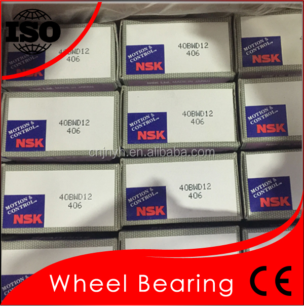 40BWD12 NSK Wheel Hub Bearing TOYOTA Bearing Original Japan NSK