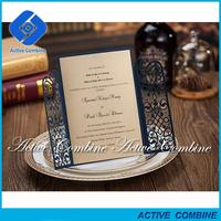 door shape 2017 new design wedding invitation for marrige invite guests