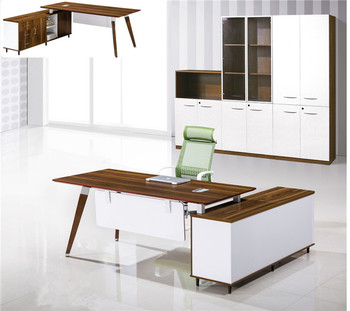 Two Sided Office Desk Mdf Mfc Chipboard