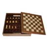Walnut Garden Game Chess Set Wooden