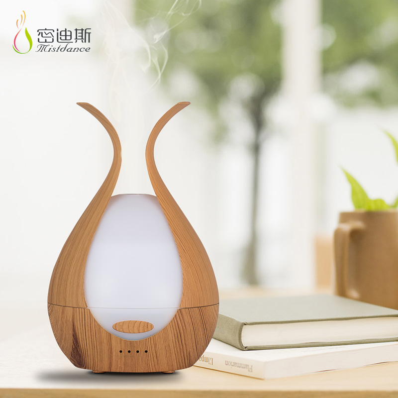 Classic wood grain <strong>portable</strong> <strong>humidifier</strong> atomizer diffuser essential oil aromatherapy