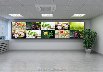 Portable 2x4 Video Wall Floor Standing Display Combination That You Install  And Rent Or Move To Another Place 55 In 1000 Nit Hig - Buy 2x4 Video