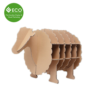 Point of Sale Cardboard Children Toys Cardboard Sheep Promotion