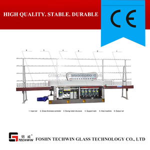 Glass shape edging/polishing/grinding machine with high quality for insulating glass