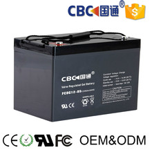 Manufacturing golf cart battery 12V85AH deep cycle gel battery