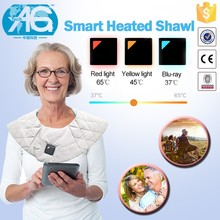 Smart Design Bluetooth Connection Waterproof Smart Massage Shawls Breathable Mesh Fabric
