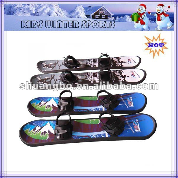 2013 Kids Plastic Snowboard as Christmas Present