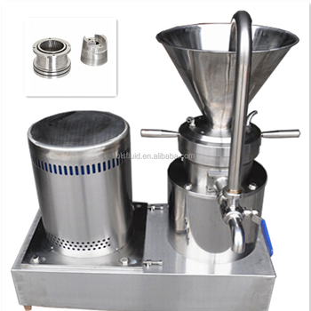 JMF Series food colloid mill for peanut butter