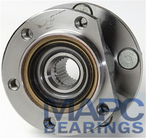Wheel Bearing Hub Assembly, 512125, 4486860, BR930193