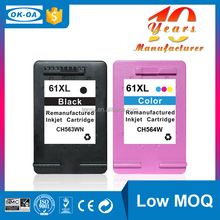 Tensy ink cartridge compatible ink cartridge clips for HP 61 XL BK CH563WE