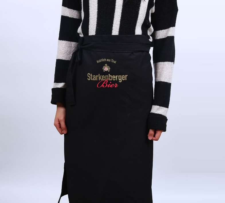 Chef Waist Apron Kitchen Printed Short Half Aprons for Men Women