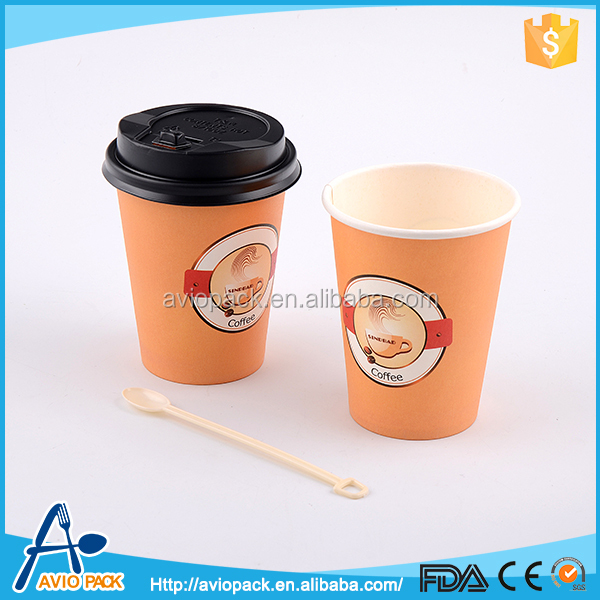 2015 New arrival design your own paper coffee cup for aircraft
