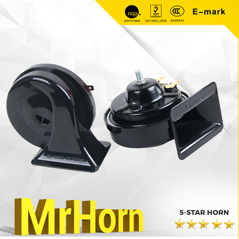 12Vor 24VElectric Loud Horn / Toy Car Sound Horn with E-Mark Certification