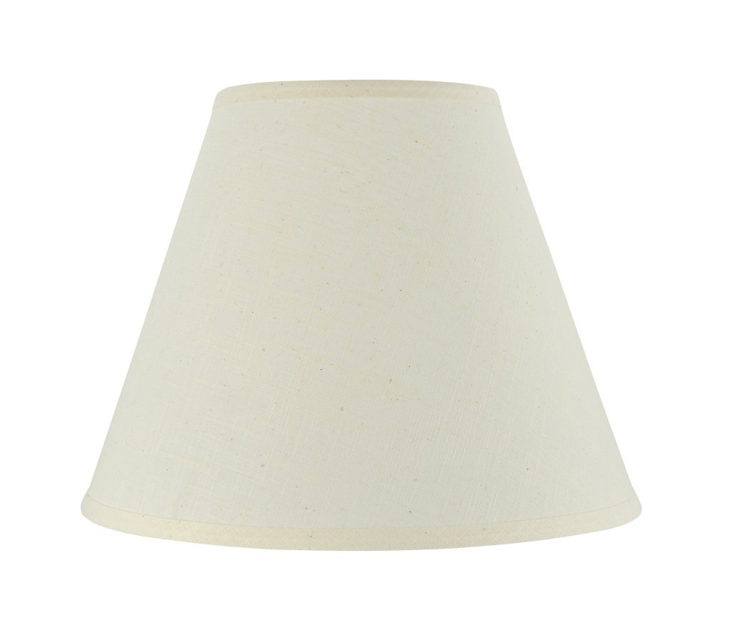 """Aspen Creative 32287 Transitional Hardback Empire Shaped Spider Construction Lamp Shade in Beige, 14"""" Wide (7"""" x 14"""" x 11"""")"""