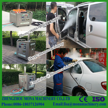 Genial Electric Pump Portable High Pressure Steam Car Wash Machine Steam Cleaning  Machine