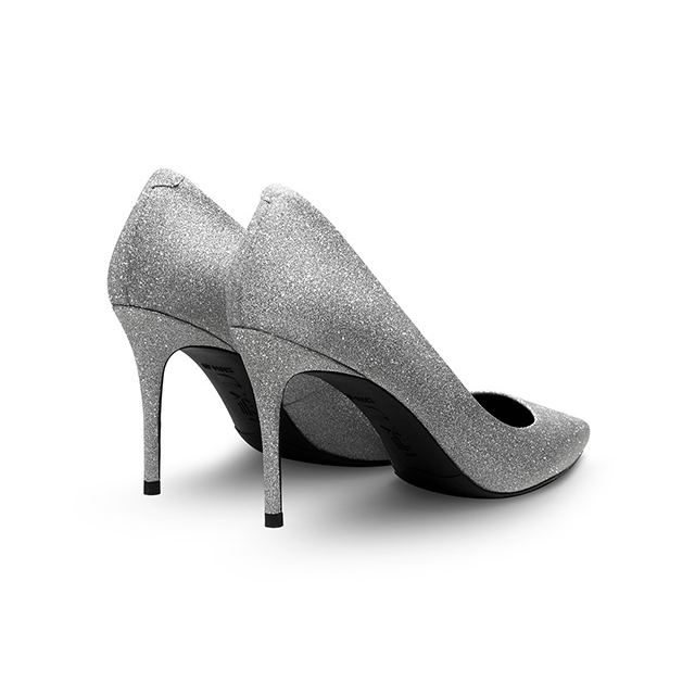 shoe shoes silver 100 stilettos wedding sexy Women's diamond flash shoes new lady crystal point OExqz4