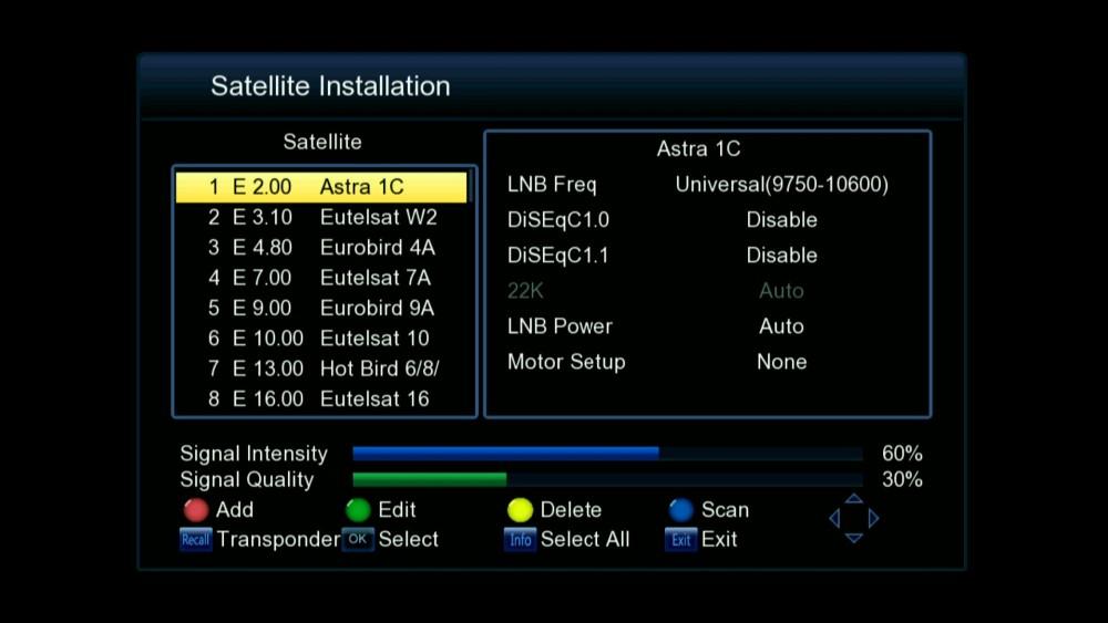 Hd Dvbs Satellite Digital Set Top Box Tiger T Full Hd - Hd satellite images