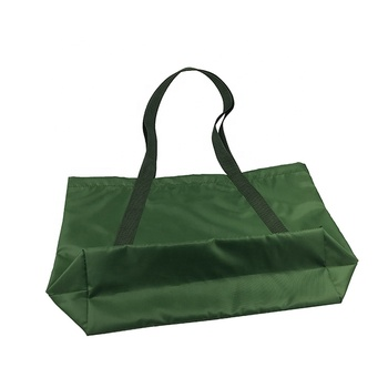 Polyester portable shopping insulated lunch customised tote bag