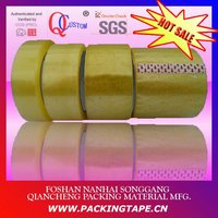 Water based OEM bopp adhesive packing tape in transparent color for carton sealing and aluminum bound PT-48