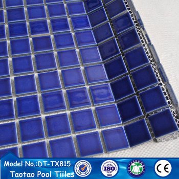 Blue Ceramic Mosaic Bathroom Pool Wall Floor Tiles Manufacturer Malaysia