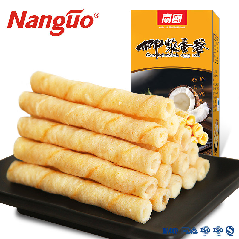 wafer roll cracker with Center filled coconut 360g