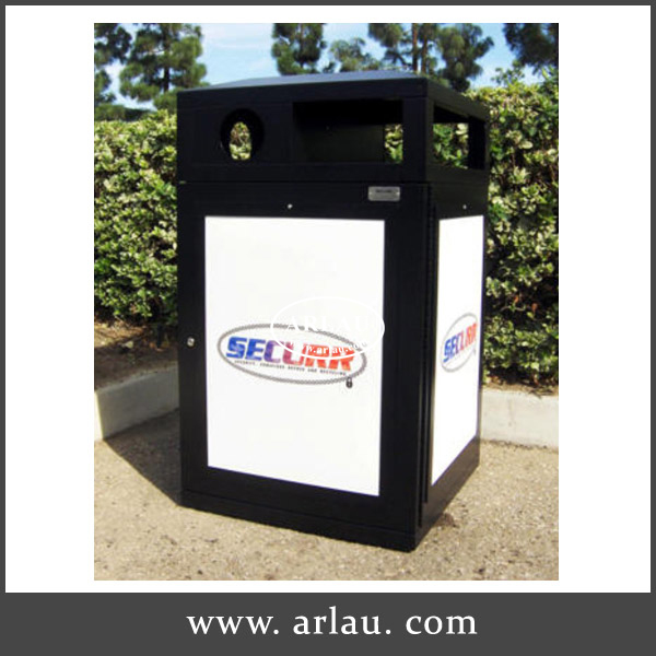 240L waste bin//trash container without wheels