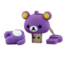Promotional Gift Usb love bear Customized PVC USB