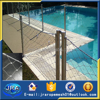 Swimming Pool Fence Mesh Stainless Steel Wire Rope Mesh For Swimming Pool Fence Buy Swimming