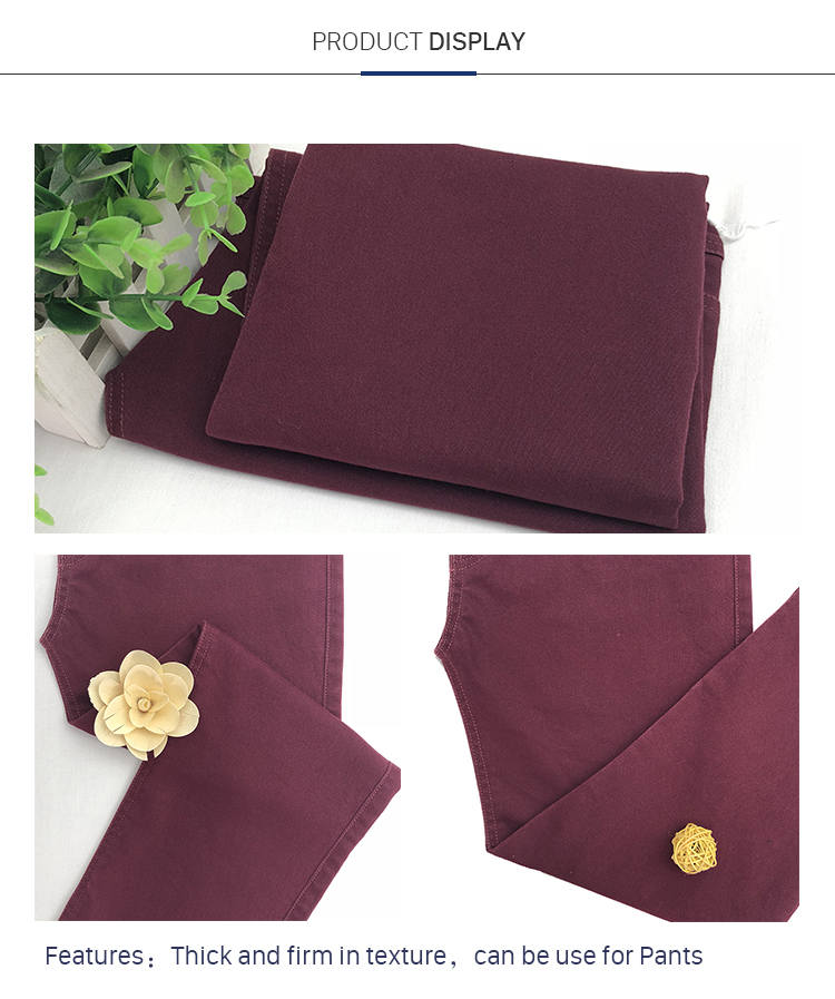 Popular Fashion Smooth Satin Elastane Fabric