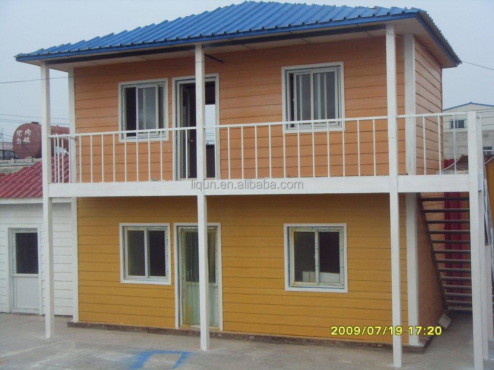 China Export Low Cost Ready Made Container House Luxury