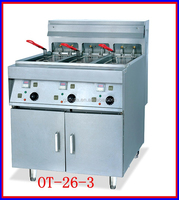 Commercial Standing Electric French Fry with Chicken Vending Machine For Sale(OT-26L-3)