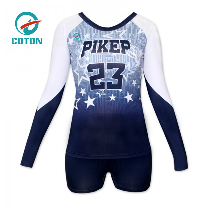 Custom sports mens Design your own volleyball uniforms team volleyball jersey
