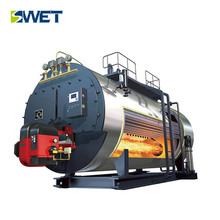 New WNS compact gas oil boiling water machine steam boiler