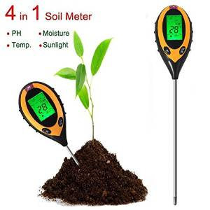 Get Quotations 4 In 1 Electronic Soil Tester Ph Humidity Temperature Yzer Name