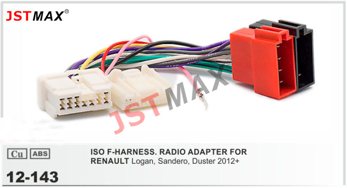car radio cd player aftermarket stereo wiring harness install toyota amp wire מוצר - jstmax car dvd radio stereo iso cable adapter for ... impreza cd radio stereo wiring harness adapter lead loom #10