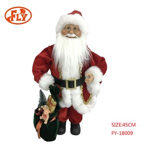 New Arrival Christmas Decor Novelty Personalized Christmas Gift With Classic Red Suit