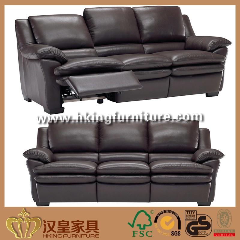 Wooden Frame Mahogany Hight Back Sitting Singer Homes Long Zero - Mahogany leather sofa