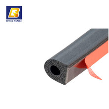 U channel Capping Rubber EPDM/SILICONE rubber extrusion sealing,black custom any shape epdm rubber extrusions