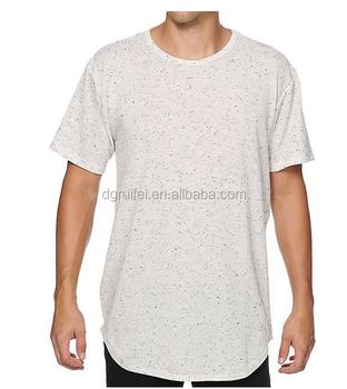 de8544312d534 High Rise Neps Extra Long T Shirt Mens Loose Fit White T Shirt - Buy ...
