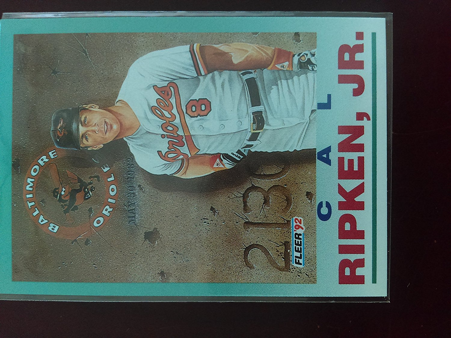 Buy 1992 Fleer 711 Cal Ripken Jr Pv Baltimore Orioles
