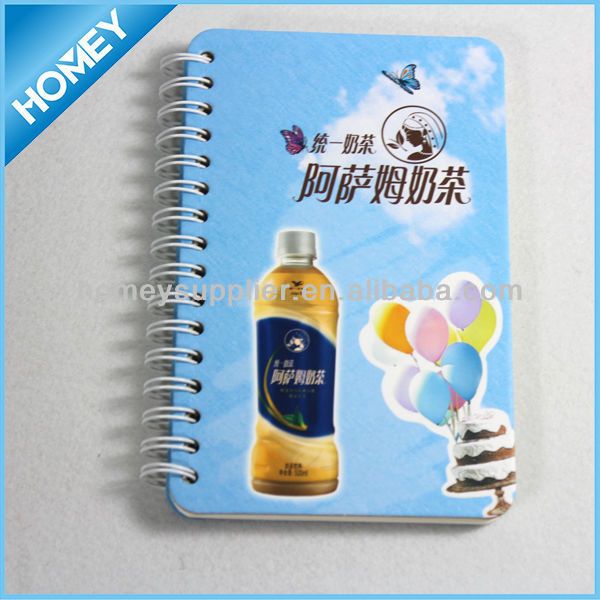 A5 size american style advertising notebook
