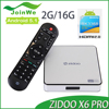 2017 Low price of Zidoo X6 Pro R3368 2G 16G 2gb Manufacturer androidTV Box