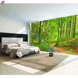 nature landscape feature 3d wall murals wallpaper for home and commercial interior decoration