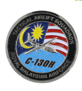 Malaysia custom color commemorative coin