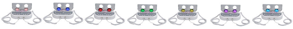 7 colors microcurrent photon light therapy machine led face mask