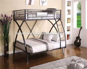 Cheap Modern Metal Heavy Duty Nice Design And Space Saving Bunk Bed