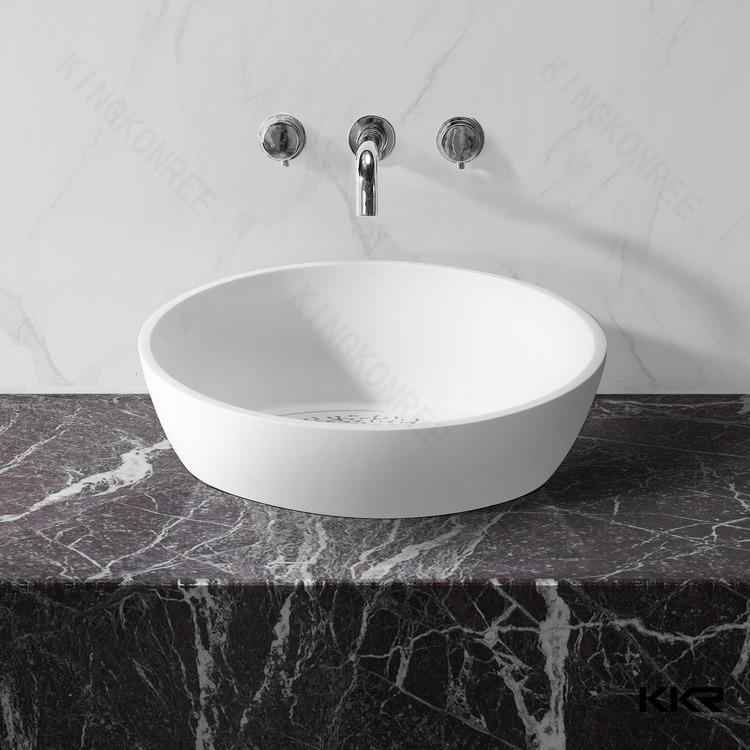 ci dessus comptoir salle de bains vier artificielle pierre rsine vier - Dessus De Comptoir Salle De Bain