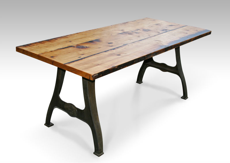 Handmade Urban Farm Table With Industrial Machine Legs   Buy Farm Table  Product On Alibaba.com