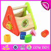Diy toy wooden knock block toy for kids,wooden toy play toy for children,colorful wooden baby puzzle toy W11G006-A1